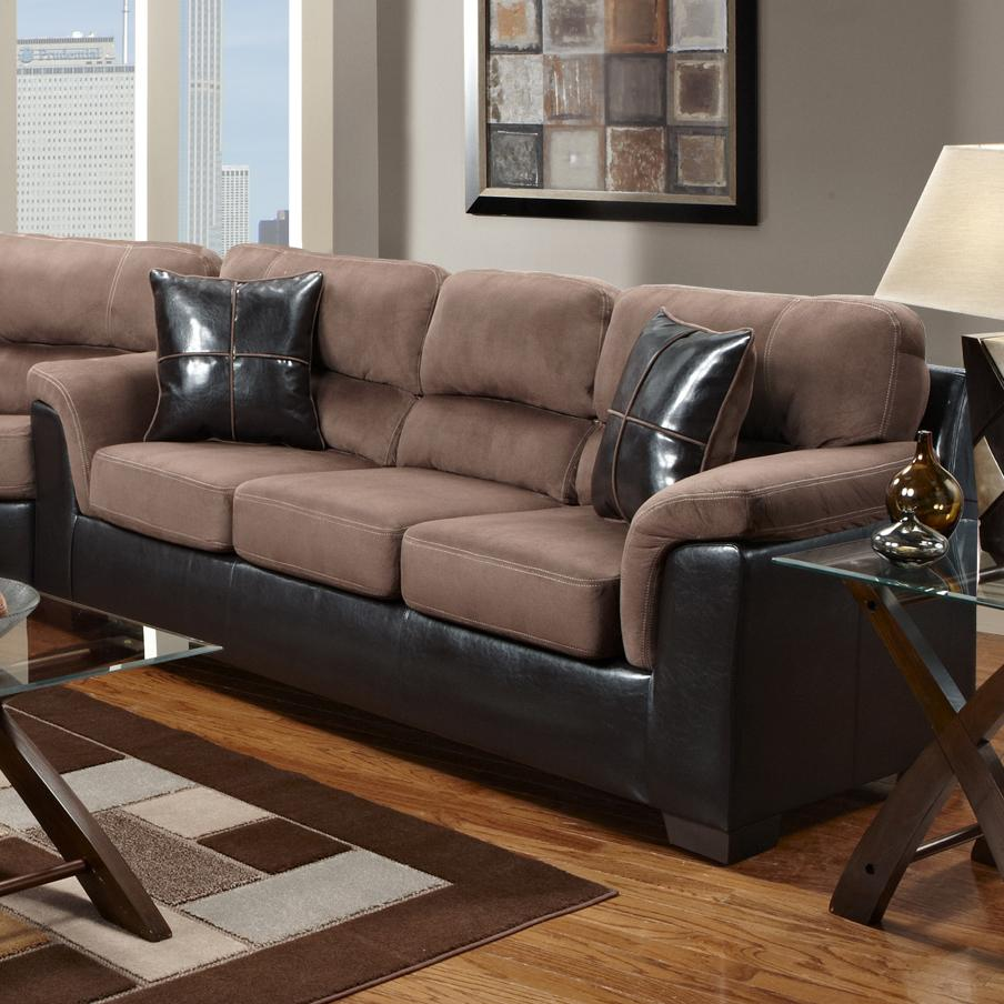 6200 Sofa by Affordable Furniture at Wilcox Furniture