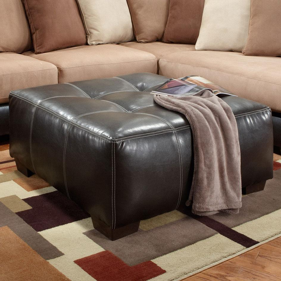 Affordable Furniture 6350 Party Ottoman - Item Number: 6355
