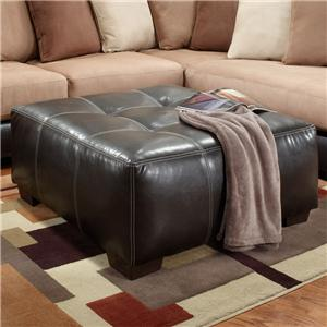 Affordable Furniture 6350 Party Ottoman