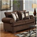 Affordable Furniture 6400 Loveseat - Item Number: 6402 B