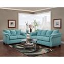 Affordable Furniture 6700 Living Room Group - Item Number: 6700 Living Room Group 1