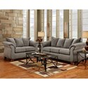Affordable Furniture 6700 Living Room Group - Item Number: 6700 Living Room Group 2