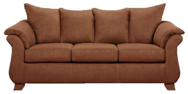 Affordable Furniture 6700 Queen Sleeper Sofa - Item Number: 6700-CHOC67