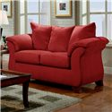 Affordable Furniture 6700 Loveseat - Item Number: 6702
