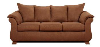 Affordable Furniture 6700 Sofa - Item Number: 6703 Aruba Chocolate
