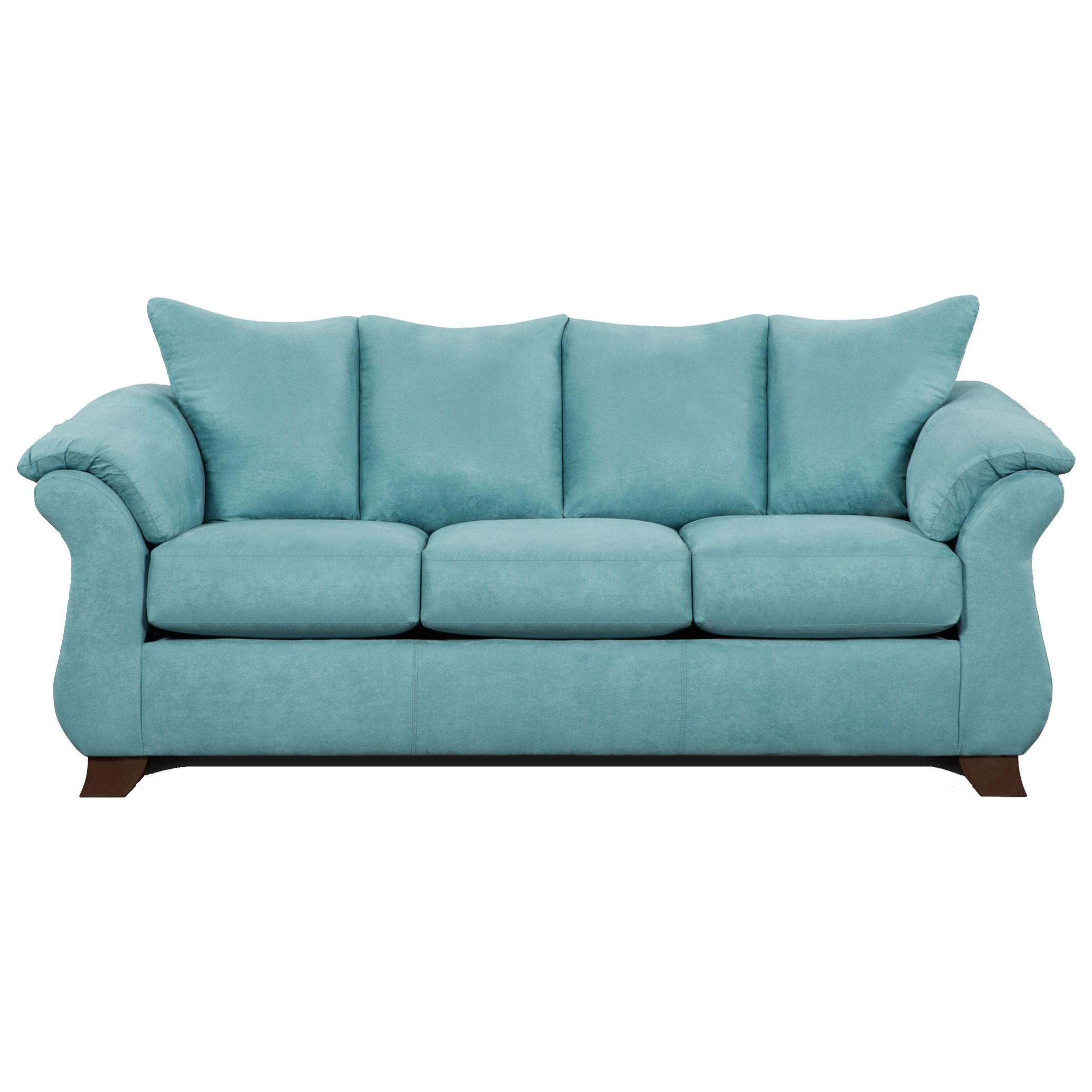 Affordable Furniture 6700 Sofa - Item Number: 6703 Sensations Capri