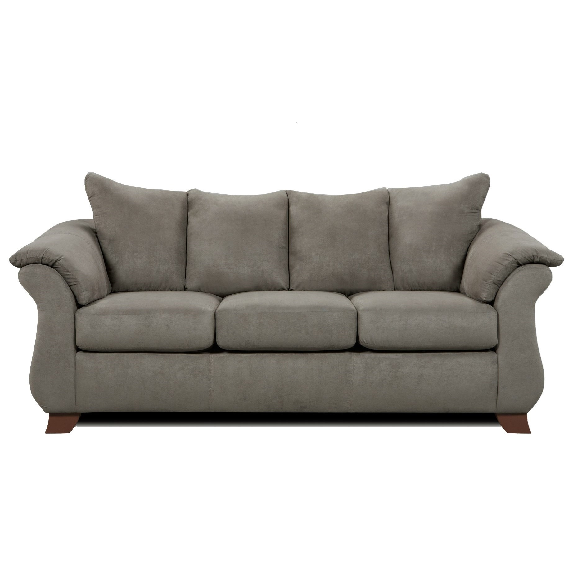 Affordable Furniture 6700 Sofa - Item Number: 6703 Sensations Grey