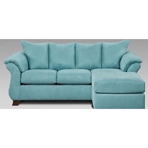 Affordable Furniture Capri Sofa/Chaise - Item Number: 406867
