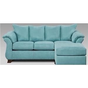 Affordable Furniture Capri Sofa/Chaise