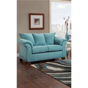 Affordable Furniture Capri Loveseat