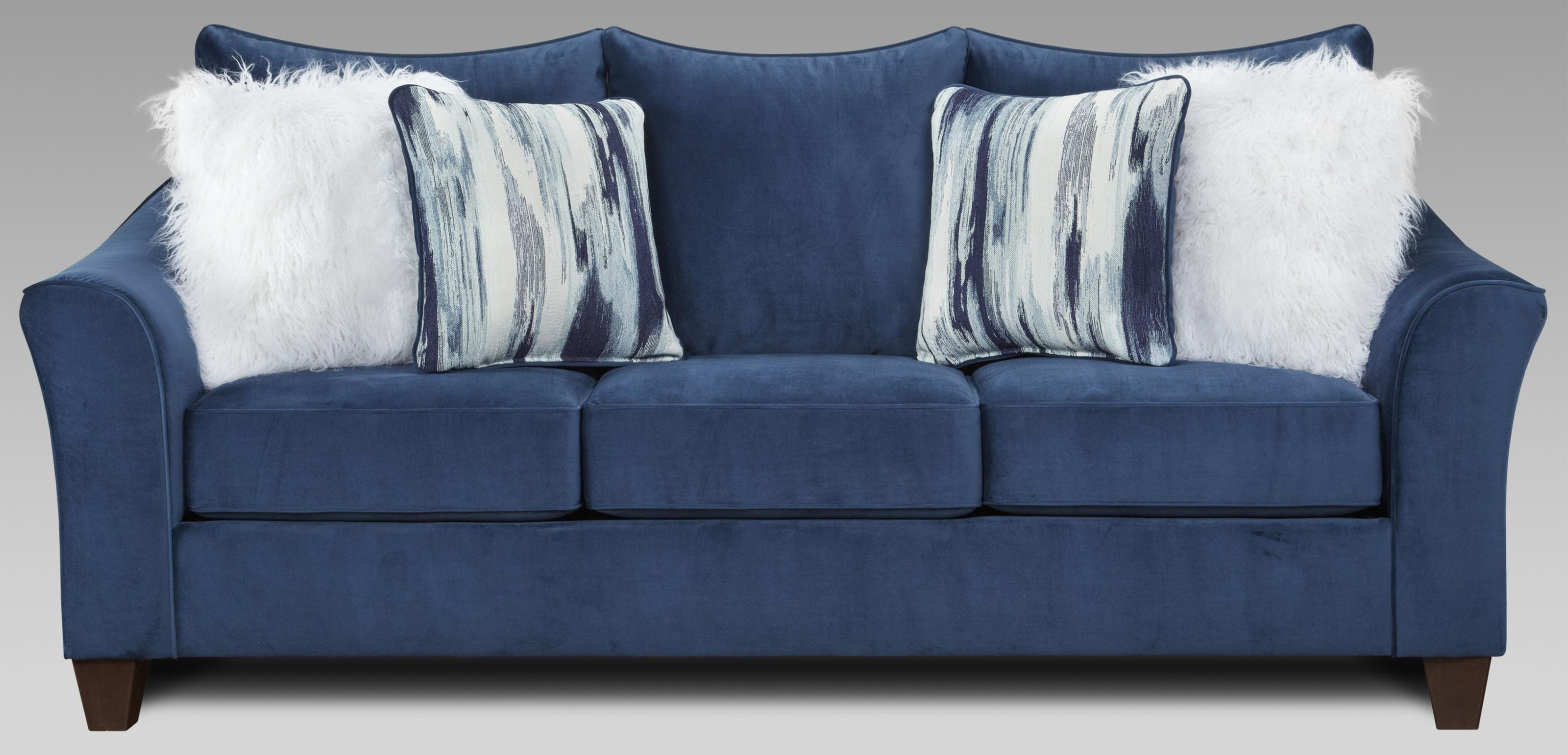 7700 Sofa with Flared Arms at Bennett's Furniture and Mattresses