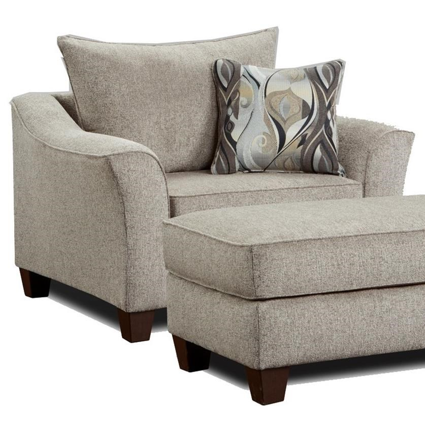 7700 Chair and a Half by Affordable Furniture at Wilcox Furniture