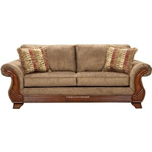 Affordable Furniture 8400 Traditional Sofa