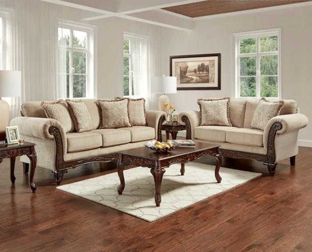 8540Emma Upholstered Love seat by Affordable Furniture at Furniture Fair - North Carolina