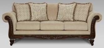 8540Emma Upholstered Sofa by Affordable Furniture at Furniture Fair - North Carolina