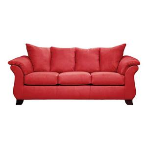 Affordable Furniture Sensations Red Brick Sofa
