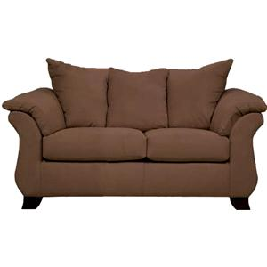 Affordable Furniture Aruba Chocolate Aruba Loveseat