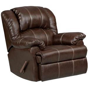 Affordable Furniture 1002 Brandon Brown Recliner