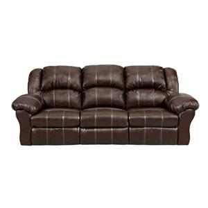 Affordable Furniture 1002 Brandon Brown Reclining Sofa