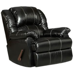 Affordable Furniture 1002 Taos Black Recliner