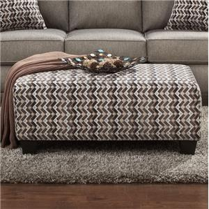 Affordable Furniture 9005 Cocktail Ottoman
