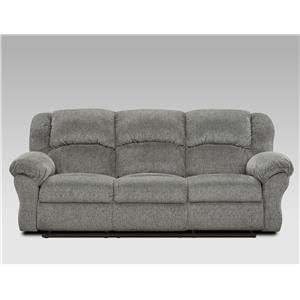 Affordable Furniture Allure Grey Reclining Sofa - 1003-AG