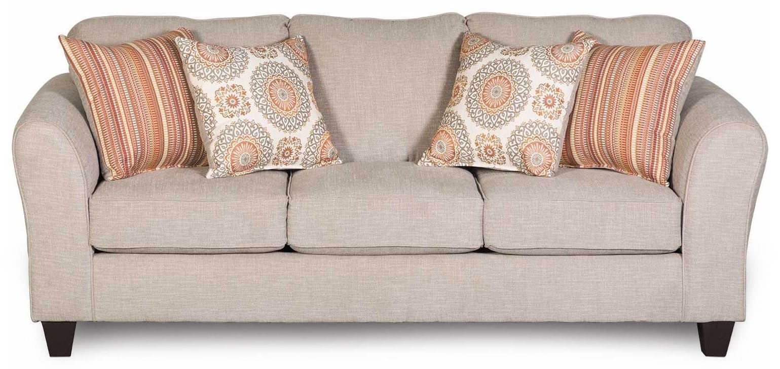 Flare-Arm Sofa