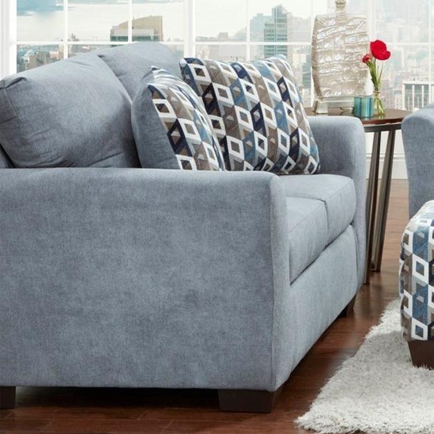 Cosmopolitan 3900 Loveseat by Affordable Furniture at Furniture Fair - North Carolina