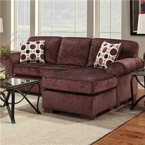 Affordable Furniture Elizabeth Sofa with Chaise