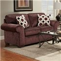 Affordable Furniture Elizabeth Loveseat - Item Number: 5303 PE