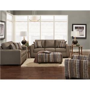 Affordable Furniture 3600 Stationary Living Room Group