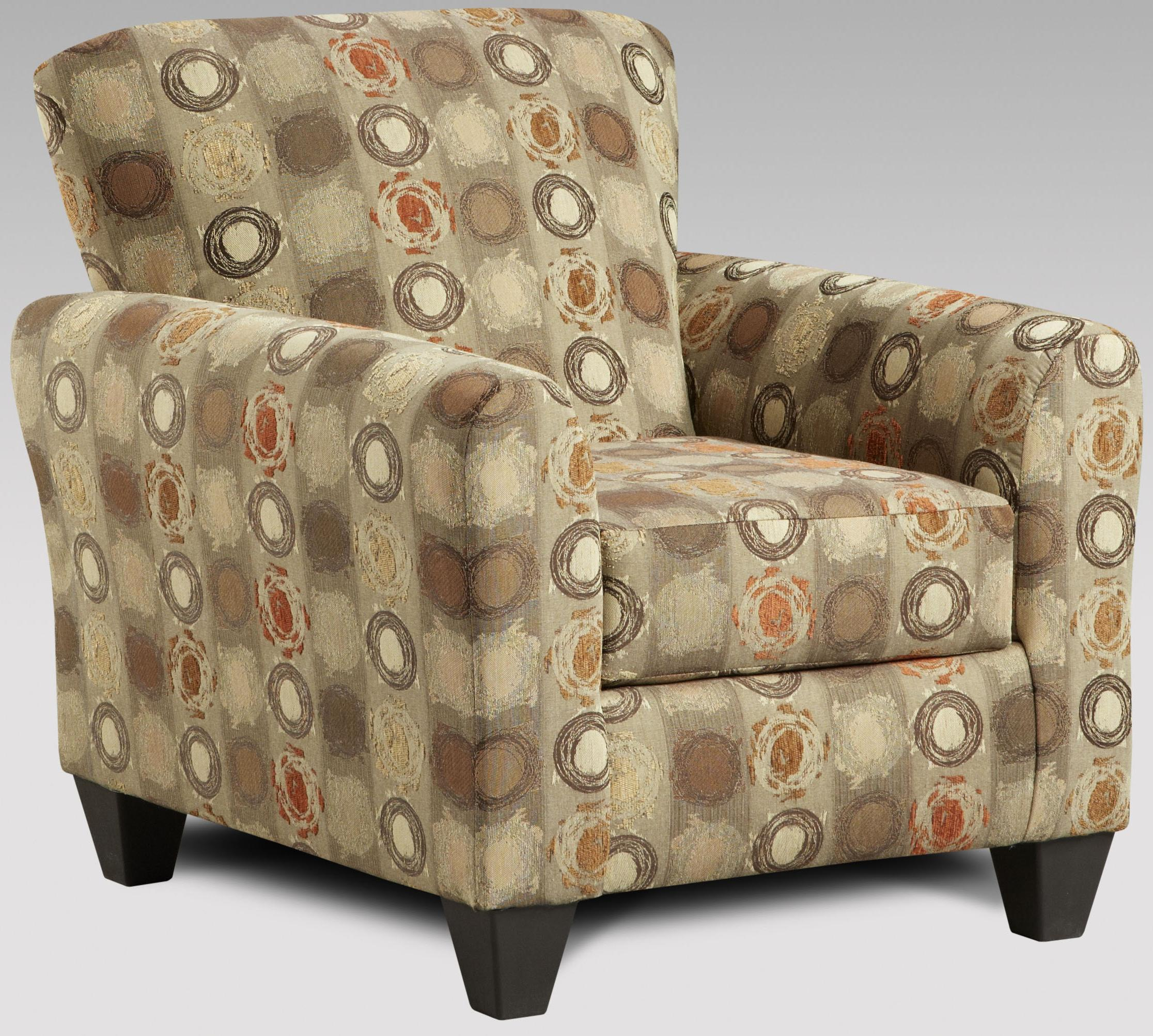 Affordable Furniture Vivid Upholstered Accent Chair
