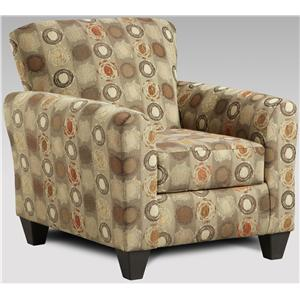 Affordable Furniture Vivid Accent Chair