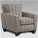 Affordable Furniture 9001 Accent Chair - Item Number: 9001 Philosophy Aluminum