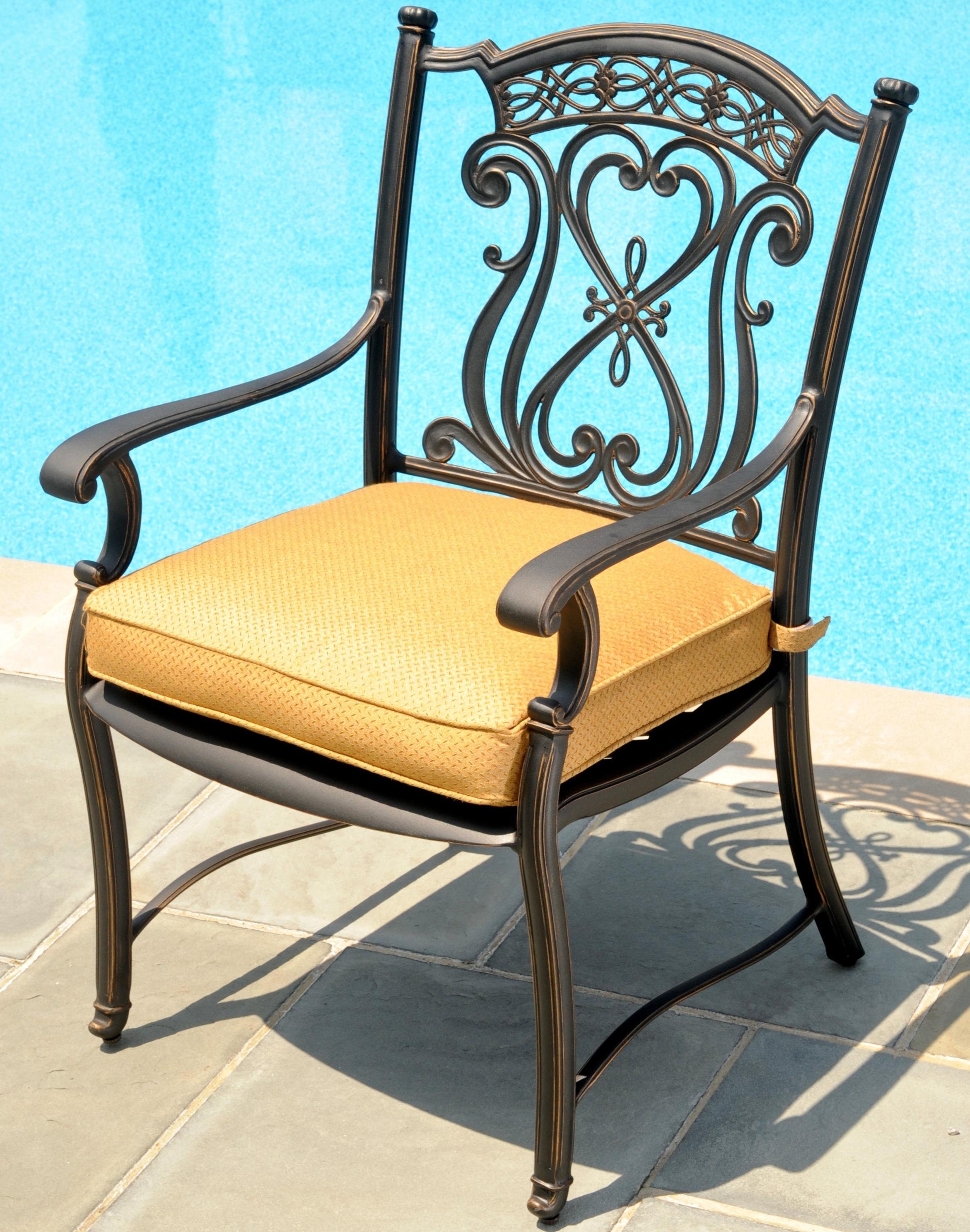 Prime Agio Amalfi Outdoor Alumicast Dining Arm Chair With Ibusinesslaw Wood Chair Design Ideas Ibusinesslaworg
