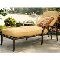 Agio Amalfi Outdoor Cushioned Chase Lounge with One Throw Pillow - 50-150712