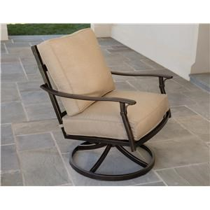 Morris Home Andora Andora Outdoor Swivel Rocker