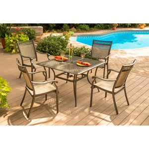 Agio Andover Agio 5 Piece Table and Chair Set