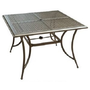 Agio Andover Agio Square 4 Seat Dining Table