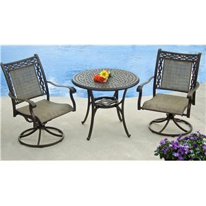 Agio Ashmost 3 Piece Chat Set