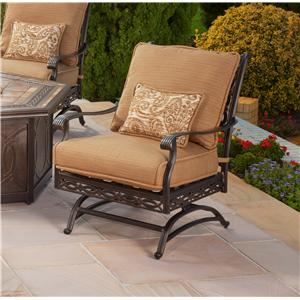 Outdoor Spring Chair with Cushion