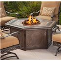 Agio Ashmost 5 Piece Spring Chair with Cushions and Firepit Chat Set - 0129596 - Firepit Chat Table