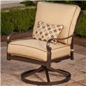 Apricity Outdoor Balmoral Swivel Lounge Chair - Item Number: AHC00801P01