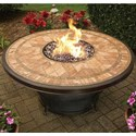 Apricity Outdoor Balmoral Fire Pit - Item Number: DRS02403P01+C01204P02