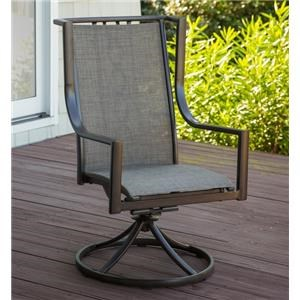 Morris Home Cascade Cascade Outdoor Swivel Rocker