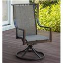 Morris Home Furnishings Cascade Cascade Outdoor Swivel Rocker - Item Number: 495501974