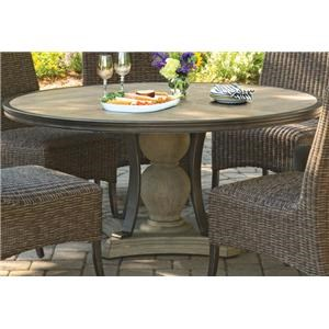 Morris Home Furnishings Corsica Corsica Outdoor Dining Table