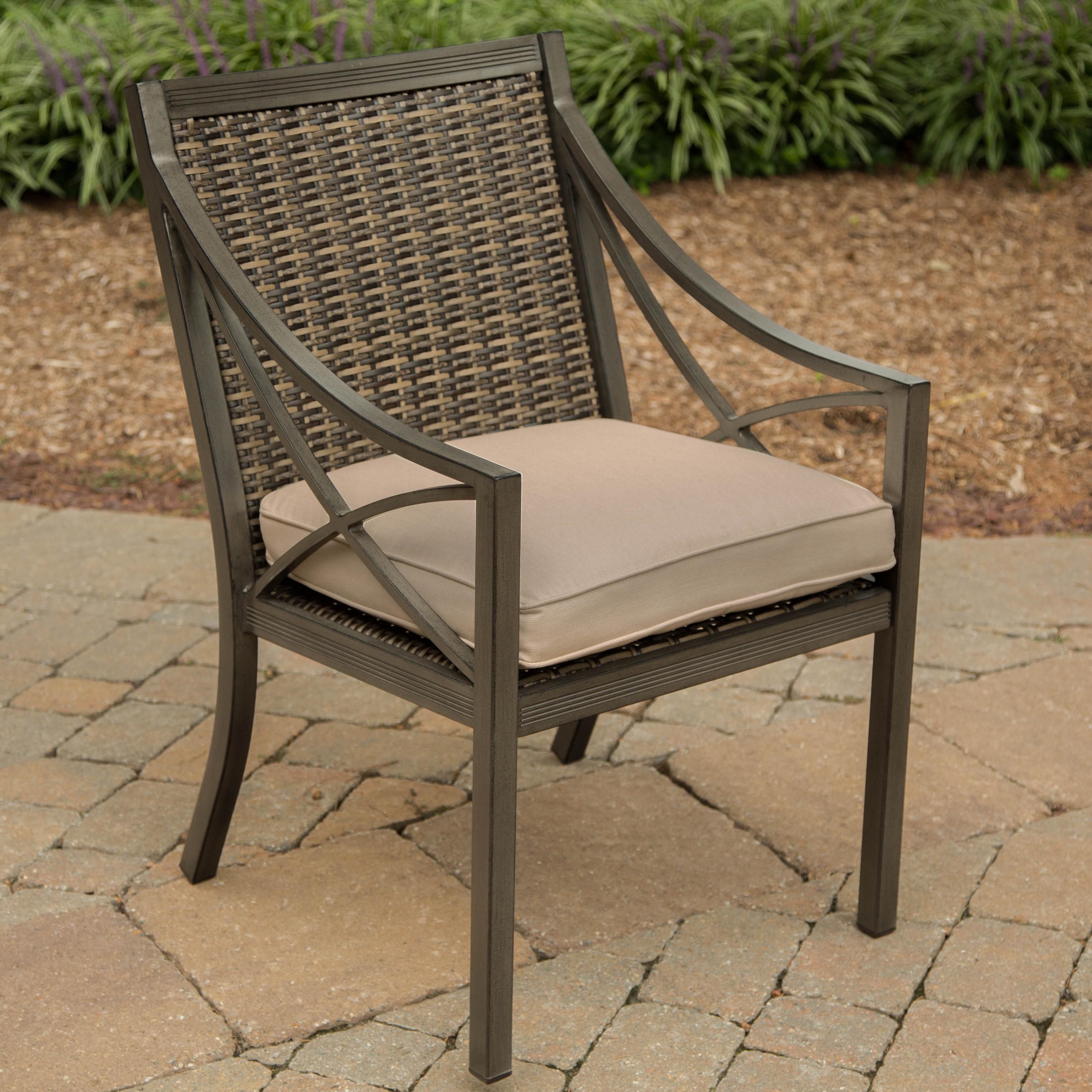 Woven metal furniture Rocker Alfresco Davenport Aluminum Woven Metal Dining Chair Beautiful Mess Alfresco Davenport Aluminum Woven Metal Dining Chair Belfort