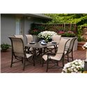 Agio Davenport Outdoor Dining Set with 6 Chairs