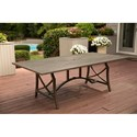 Agio Davenport Dining Table - Item Number: ALH42312P01